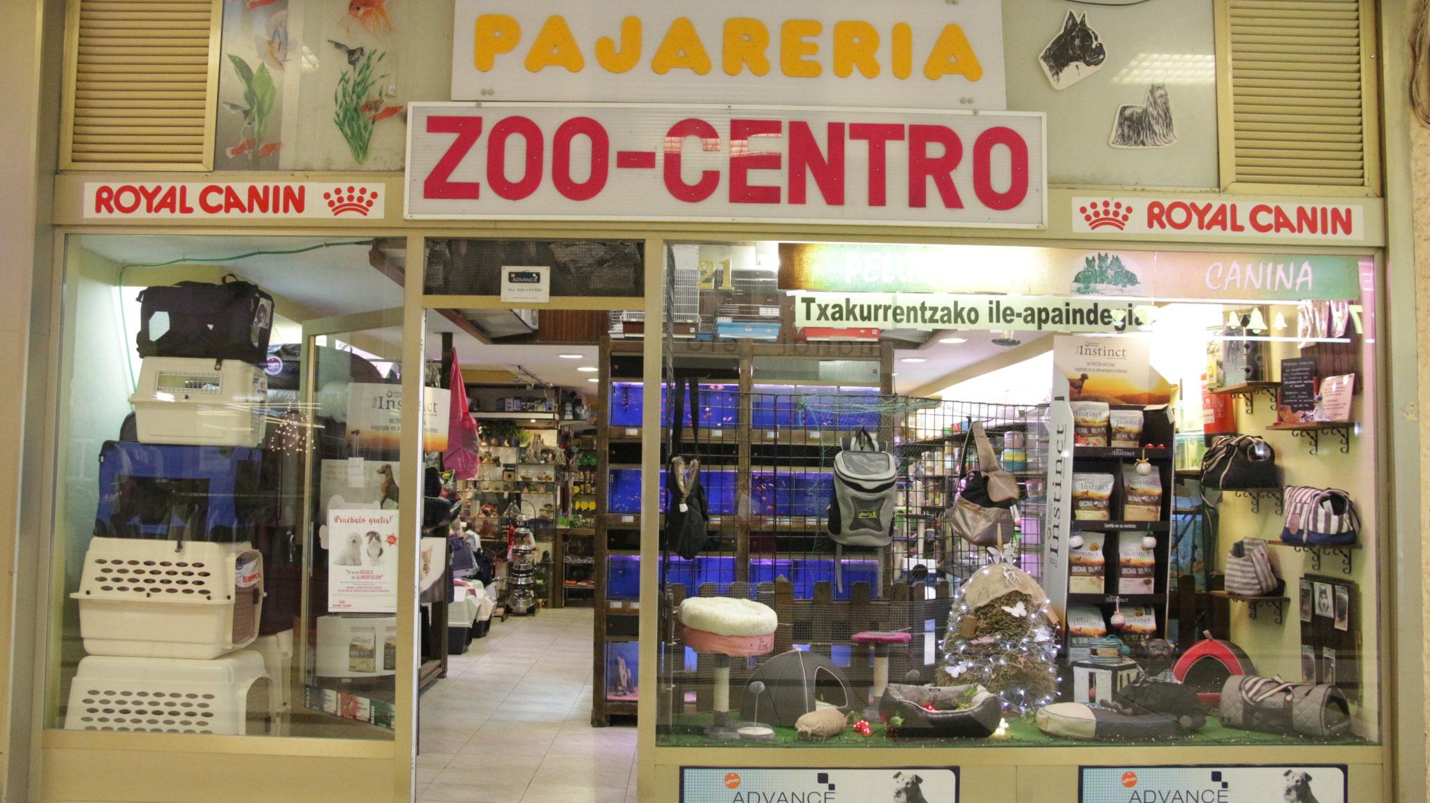 Tienda especializada en el cuidado de la mascota